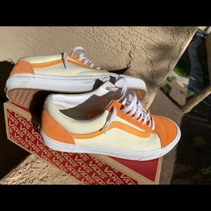 Old Skool Vans (Orange)